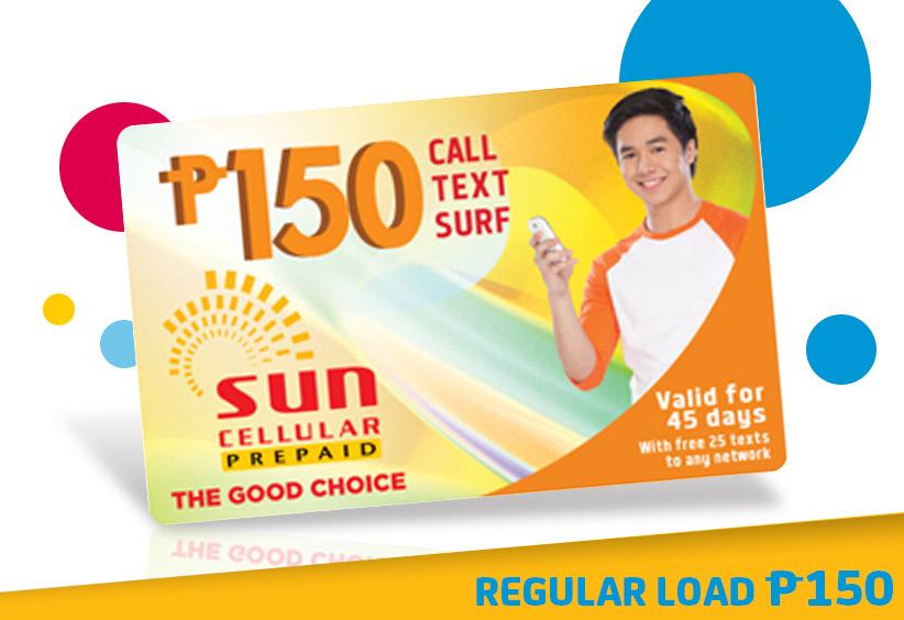 sun prepaid load - Load Prepaid Card